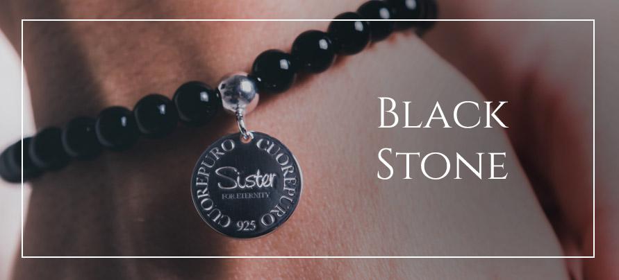 Linea bracciali Black Stone